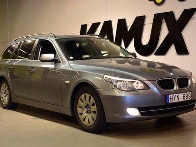 begagnad BMW 520 i Touring E61 170hk | Drag | Skinn
