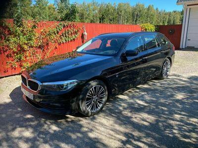 begagnad BMW 520 D Sportline Del-skinn Navi Drag Skatt 1781 kr