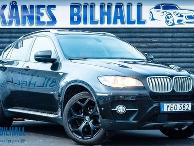 begagnad BMW X6 xDrive35i Steptronic 306hk Fullutrustad 360 kamera