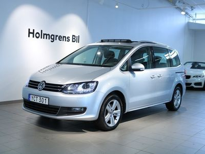 begagnad VW Sharan 2.0 TDI 150hk, Aut, Premium, Glastak 7-Sits