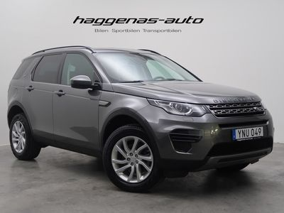 begagnad Land Rover Discovery Sport TD4 4WD EU6 2017, SUV 419 000 kr