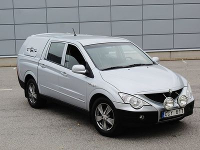 begagnad Ssangyong Actyon Pick-up 2.0 D Double CAB 4WD -08