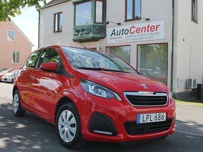 begagnad Peugeot 108 5-dörrar 1.0 VTi 69hk
