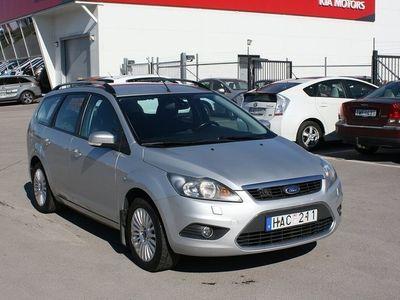 begagnad Ford Focus Combi 1.8 Duratec Flexifuel 125hk