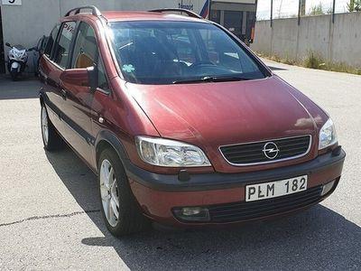 brugt Opel Zafira 1.8 7-sits 115hk -00