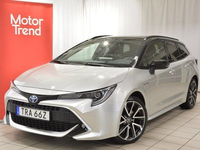 begagnad Toyota Corolla Touring Sports Hybrid 2,0 HSD TS Executive Drag Vinterdäck