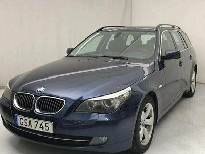 begagnad BMW 525 i Touring, Besiktad till Juli 2022, Dragkrok