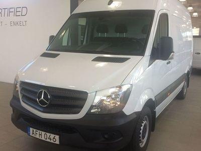 begagnad Mercedes Sprinter Benz 316 LÅG SKATT 2018, Transportbil 412 375 kr