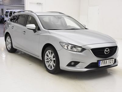 brugt Mazda 6 2.2 DE 150hk NYSERVAD NAVI