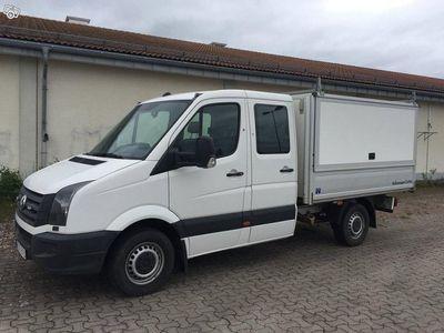 begagnad VW Crafter dubbelhytt TDI(163hk) kåpa -13