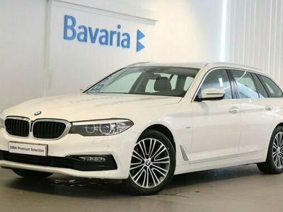 begagnad BMW 324 520 d xDrive Touring Sport line Drag Värmare HiFi 2018, Kombi Pris700 kr