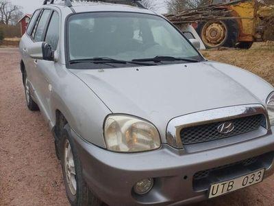 begagnad Hyundai Santa Fe gls 2.4 04