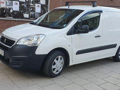 begagnad Peugeot Partner 1.6 BlueHDi Euro 6 lågmil -16