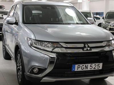 begagnad Mitsubishi Outlander 2.2D 4WD KOMFORT DEMO
