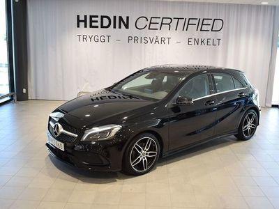 begagnad Mercedes A180 - BenzPanorama / / AMG / / Smartphone integration