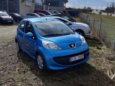 begagnad Peugeot 107 5-dörrar 1.0 68hk