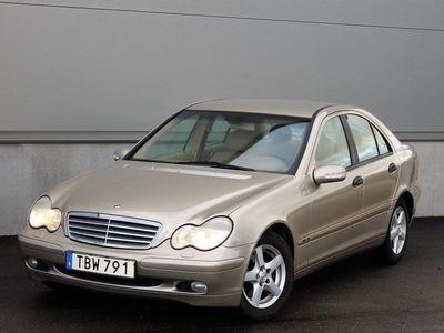 begagnad Mercedes C200 kompressor