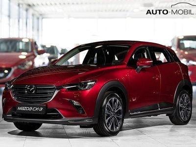 begagnad Mazda CX-3 Automat, 2.0 Optimum 121 hk, Svart skinnklädsel