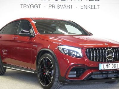 begagnad Mercedes GLC63 AMG AMGS COUPE 4MATIC