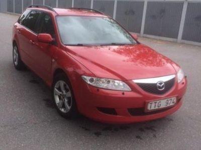 begagnad Mazda 6 kombi 1,8 -02