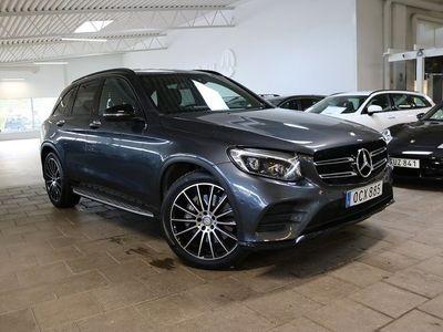 begagnad Mercedes GLC250 d 4M 250d 4MATIC AMG Night 204hk