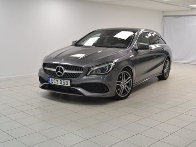 begagnad Mercedes CLA180 Shooting Brake 7G-DCT AMG Euro 6 122hk