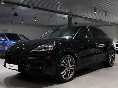 begagnad Porsche Cayenne Turbo Coupé 550 hk / Värmare / Head-up