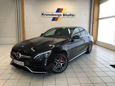 begagnad Mercedes S63 AMG C-KlassAMG 510HK Sedan Speedshift MCT