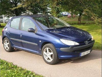 begagnad Peugeot 206 5-dörrar 1.6 XT 109hk NyBesik -04