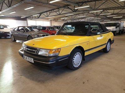 begagnad Saab 900 Cabriolet T16 Turbo Montecarlo gul