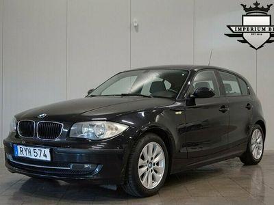 begagnad BMW 118 d 5-dörrars Lågmil Backkamera Fullservad 143hk