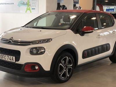 begagnad Citroën C3 PureTech 82 Shine // Apple Carplay // Autobroms //