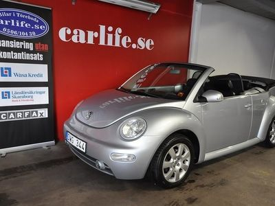 begagnad VW Beetle NewCabriolet 2.0 Sport, Co -03
