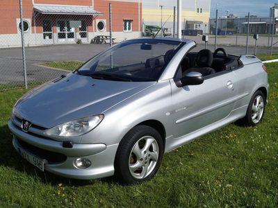 begagnad Peugeot 206 CC 1.6 109hk Quicksilver