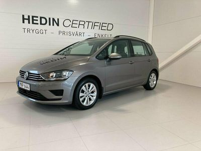 begagnad VW Golf Sportsvan / Dragkrok