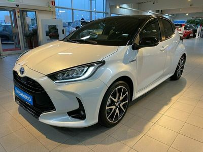 begagnad Toyota Yaris 1.5 HSD Style 5-D Bi-Tone Automat