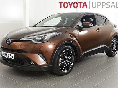 begagnad Toyota C-HR 1.8 Elhybrid Executive Teknikpaket Skinn JBL