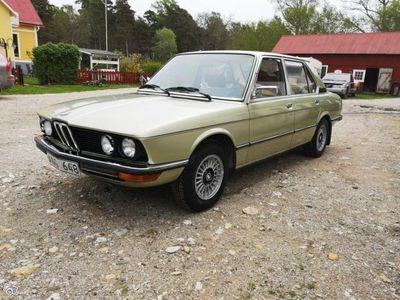 begagnad BMW 518 E12 i, Originalskick