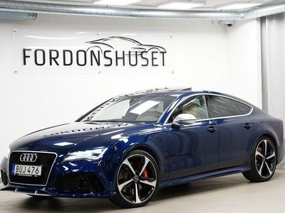 begagnad Audi RS7 4.0 TFSI V8 QUATTRO   2014, Sportkupé Pris 529 000 kr