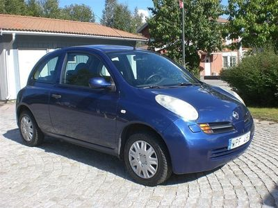 begagnad Nissan Micra 1,2 Nybes Kamkedja 12 000 Mil AC