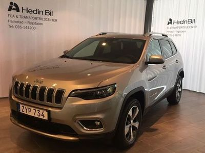 begagnad Jeep Cherokee Cherokee LIMITED 2,2 DIESEL AWD 9AT 195HK M19