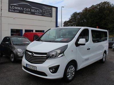 begagnad Opel Vivaro 1.6 CDTi 145HK EU6 9-SITS MOMS