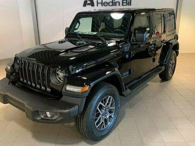 begagnad Jeep Wrangler PHEV 80TH ANV 2.0 2021, SUV Pris 740 275 kr