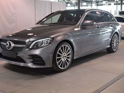 begagnad Mercedes C200 200 Kombi // AMG Line // Premiumpaket //