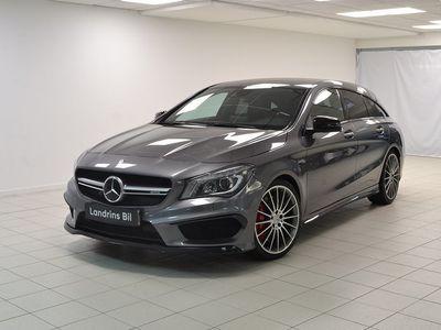 begagnad Mercedes CLA45 AMG Shooting Brake AMG 4MATIC Euro 6 381hk
