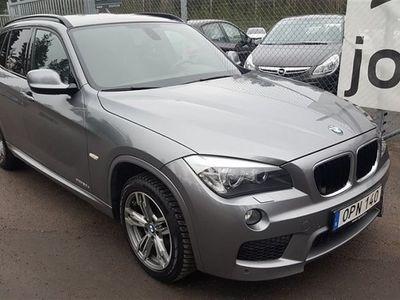 begagnad BMW X1 xDrive20d, M-Sport Automat (177hk)