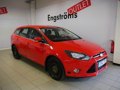 begagnad Ford Focus Kombi 1.6 FlexiFuel 150hk