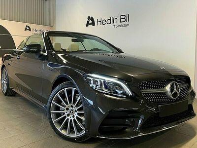 begagnad Mercedes C200 - BenzCabriolet / AMG / PREMIUM PLUS / BURMESTER / LAGERBIL