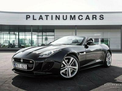 begagnad Jaguar F-Type V8 S Cabriolet Convertible 495hk / Sv.såld / Sportavgas