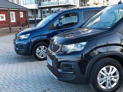 begagnad Peugeot Rifter Golvsänkt Rullstolsbil Handika